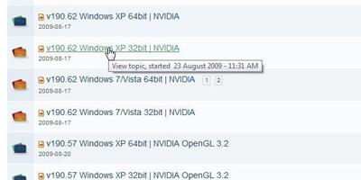 Модернизация видеодрайверов nVidia под Windows XP