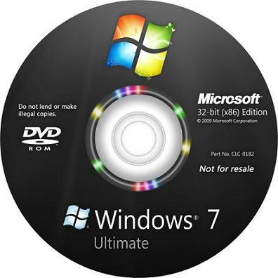 Windows 7 Ultimate x32 (x86) Ru