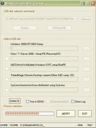 WinSetupFromUSB 1.0 beta 6 Portable или как установить Windows с флешки