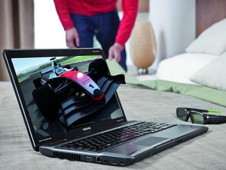 Новые развлекательные ноутбуки Satellite P от Toshiba